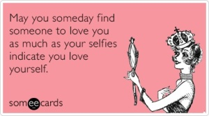 Selfie E Card